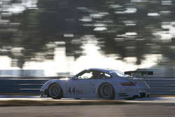 #44 Flying Lizard Motorsports Porsche 911 GT3 RSR: Seth Neiman, Darren Law, Johannes van Overbeek