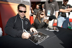 Casey Mears and Danica Patrick