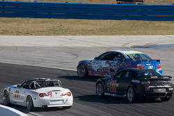 #32 Kinetic Motorsports BMW M3 Coupe: Glenn Bocchino, Todd Lamb, #30 Meyer Motorsports Mazda RX-8: Eric Meyer, Payton Wilson, #23 V-Pack Motorsport BMW Z4: Zach Arnold, Sam Schultz