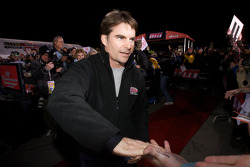 Drivers enter the stage: Jeff Gordon, Hendrick Motorsports Chevrolet