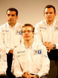 Marc Gene, Sébastien Bourdais and Stéphane Sarrazin