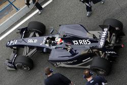 Nico Hulkenberg, WilliamsF1 Team, FW31, detail