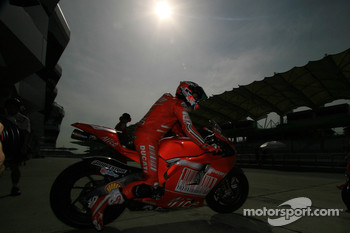 Casey Stoner of Ducati Marlboro Team