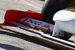 Nelson A. Piquet, Renault F1 Team, detail