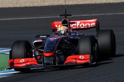 Lewis Hamilton, McLaren Mercedes, MP4-24- Formula 1 Testing, Jerez