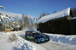 Mads Ostberg and Unnerud Ole Kristensen, Subaru Impreza WRC 06