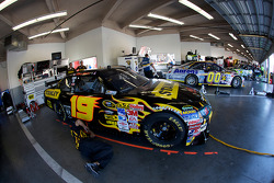 Richard Petty Motorsports Dodge garage area