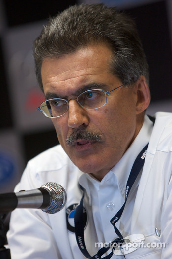 BMW Rahal Letterman Racing Team press conference: Dr. Mario Theissen