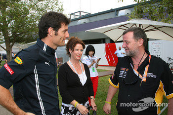 Mark Webber, Red Bull Racing and Paul Stoddart