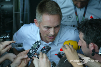 Martin Whitmarsh, McLaren-Mercedes