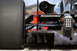 Heikki Kovalainen, McLaren Mercedes, detail
