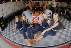 The lovely Aston Martin Racing girls