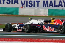 Nick Heidfeld, BMW Sauber F1 Team and Sebastian Vettel, Red Bull Racing