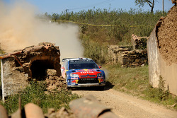 Sébastien Loeb and Daniel Elena, Citroen C4, Citroen Total World Rally Team