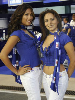 The charming Yamaha girls