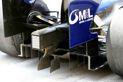 Diffuser of a Williams FW31