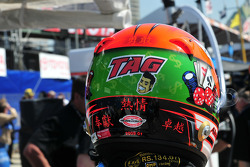 Helmet of Alex Tagliani, Conquest Racing