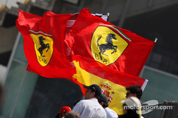 Ferrari flags