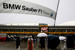 BMW Sauber umbrella