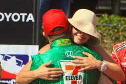 Third place Tony Kanaan, Andretti Green Racing