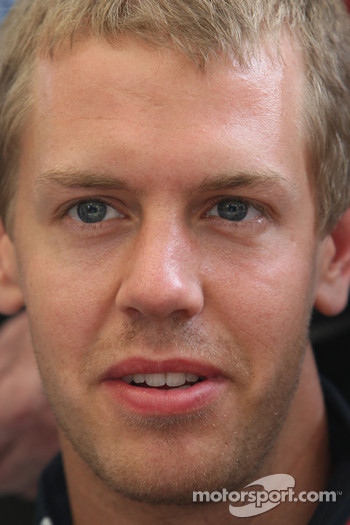 Interview with Sebastian Vettel, Red Bull Racing