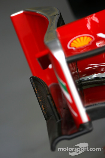 Scuderia Ferrari front wing detail