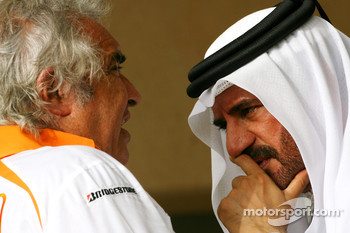 Flavio Briatore, Renault F1 Team, Team Chief, Managing Director and Mohammed bin Sulayem