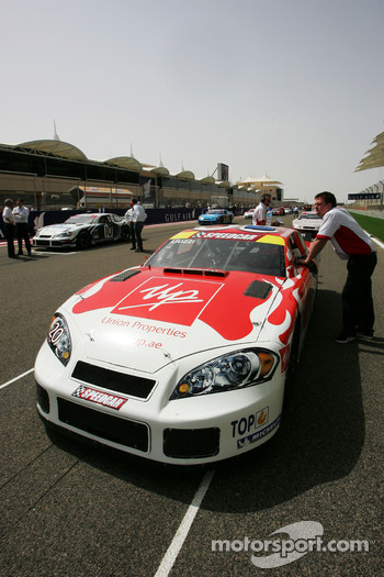 Vitantonio Liuzzi UP Team on the grid