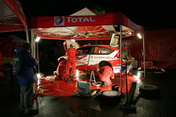 Citroen Junior Team service area