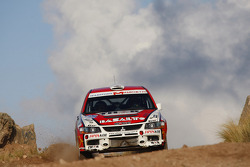 Juan Marchetto and Jose Diaz, Mitsubishi Lancer Evo IX