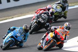 Andrea Dovizioso, Repsol Honda Team, Chris Vermeulen, Rizla Suzuki MotoGP