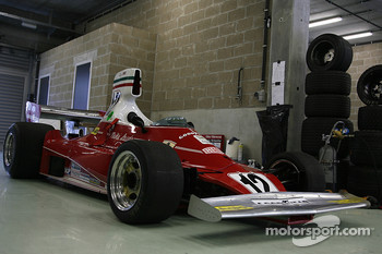 Entered, yet not racing: a world champion, Niki Lauda's former Ferrari 312 T (1975)