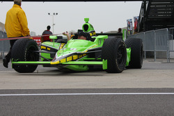 HVM Racing car of Nelson Philippe is brought the pitlane