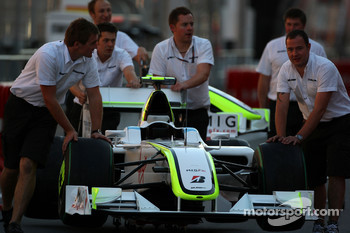 Car of Rubens Barrichello, Brawn GP
