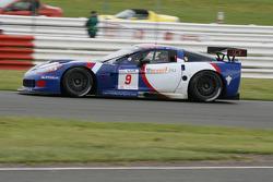 #9 DKR Engineering Corvette C6R: Jos Menten, Markus Palttala