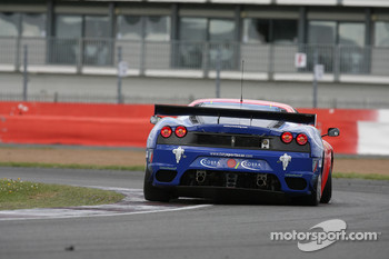 #56 CRS Racing Ferrari 430 GT2: Andrew Kirkaldy, Rob Bell