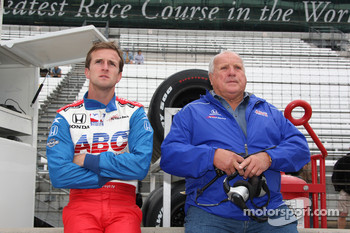 A.J. Foyt IV, A.J. Foyt Enterprises with A.J. Foyt