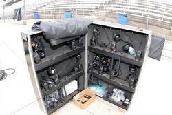 Radios wait for practice