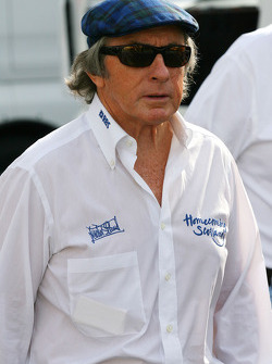 F1: Sir Jackie Stewart, RBS Representitive and Ex F1 World Champion
