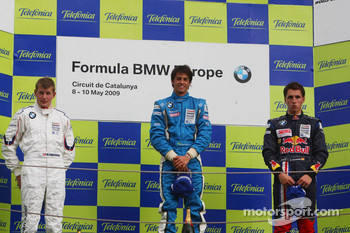 Posium, Michael Christensen, Muecke Motorsport, Luiz Felipe Nasr, Eurointernational and Daniel Juncadella, Eurointernational