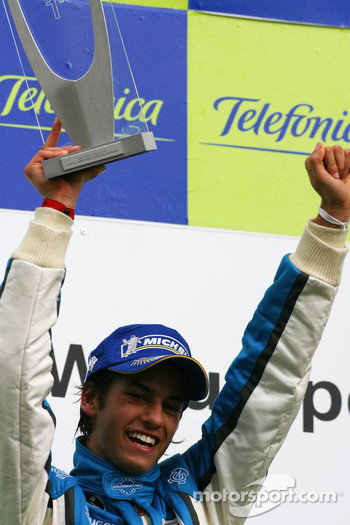 1st, winner Luiz Felipe Nasr, Eurointernational