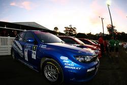 Car of Cody Crocker and Ben Atkinson, Motor Image Racing