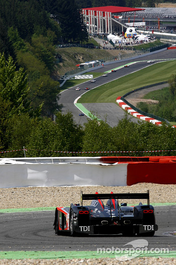 #14 Kolles Audi R10 TDI: Andrew Meyrick, Narain Karthikeyan, Charles Zwolsman; at Rivage