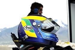 David Brabham's helmet