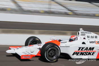 Ryan Briscoe, Penske Racing coming into the pits