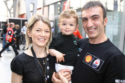 Andrea Bertolini with his family