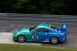 #28 Falken Motorsport Nissan Z 33: Peter Dumbreck, Tetsuya Tanaka, Kazuki Hoshino, Sebastian Asch
