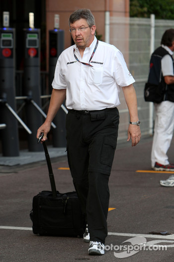 Ross Brawn Brawn Grand Prix Team Principal