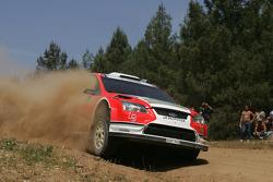 Federico Villagra and Jorge Perez Companc, Ford Focus RS WRC