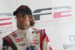 Andy Soucek in the post qualifying press conference for race two